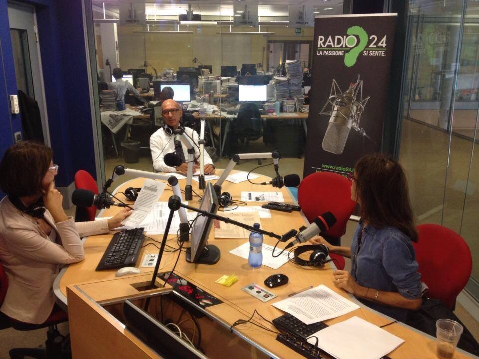 Oggi sono stato ospite alla trasmissione Cuore e Denari su Radio 24