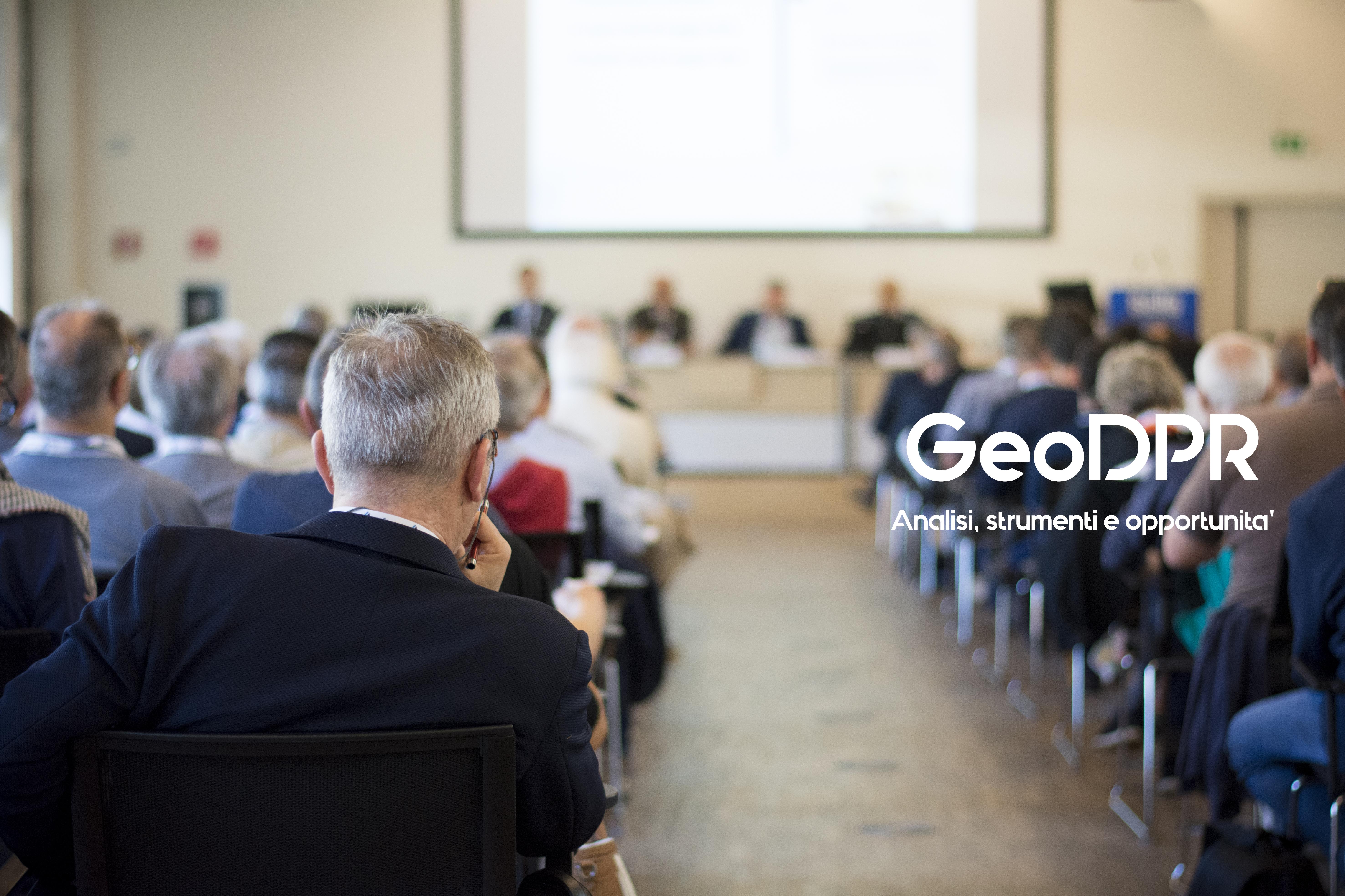 GeoDPR: analisi, strumenti e opportunità