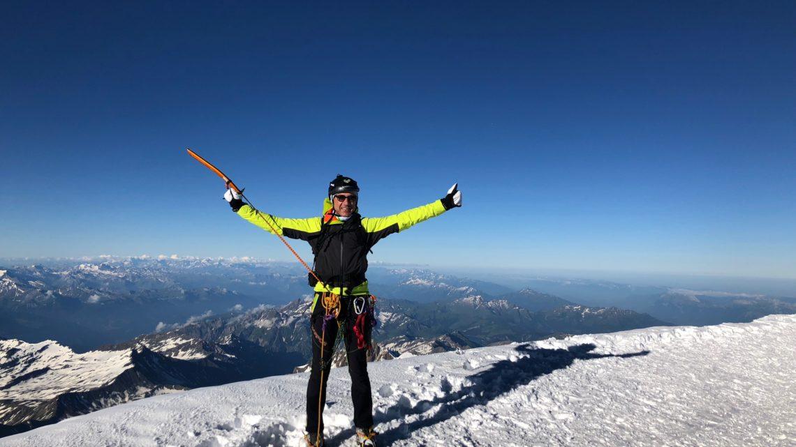 Monte Bianco mt. 4.810 s.l.m. 07 luglio 2018